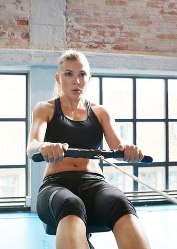 BIR rowing machine workout