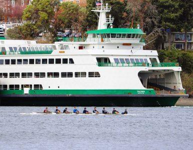 BIR Juniors - Eagle Harbor with WSDOT ferry