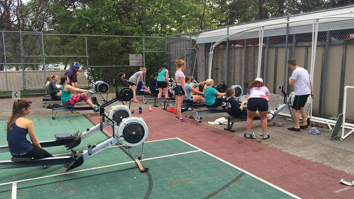 BIR Juniors - Tennis Court Erging