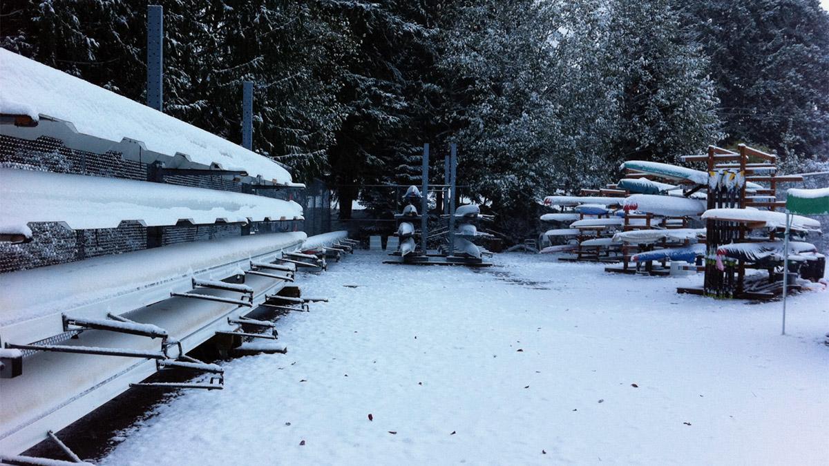 BIR Open Boat Storage - Snow