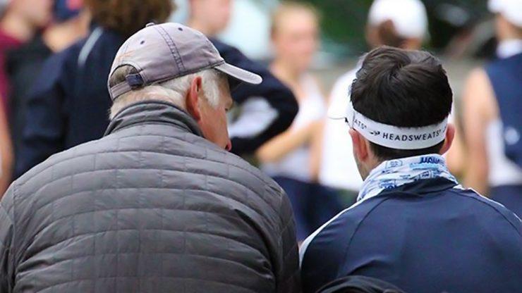 BIR - Coach Bruce Beall and Coxen Sam Bloom