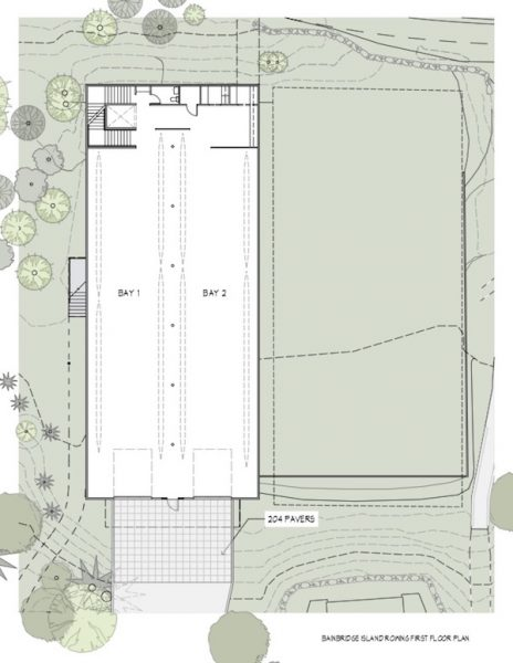 Stan Pocock Legacy Rowing Center Floorplan 1