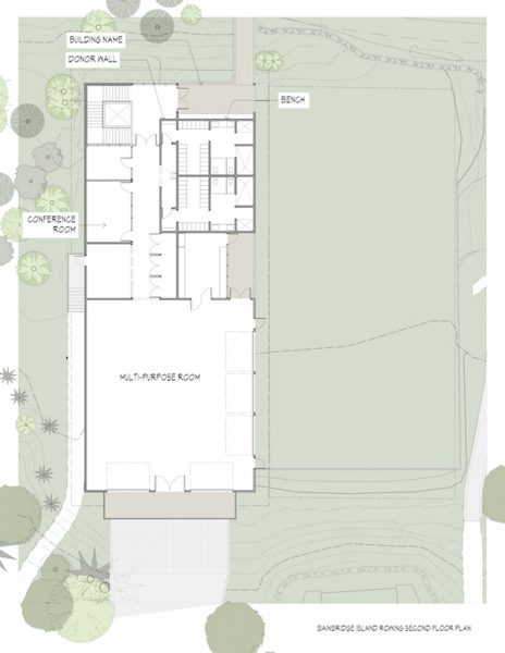 Stan Pocock Legacy Rowing Center Floorplan 2