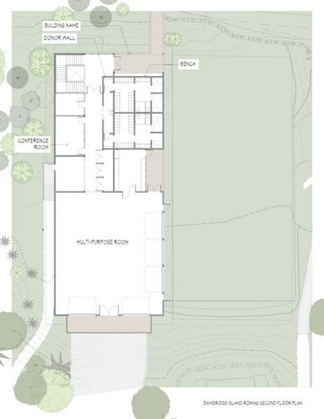 Stan Pocock Legacy Rowing Center Floorplan 2