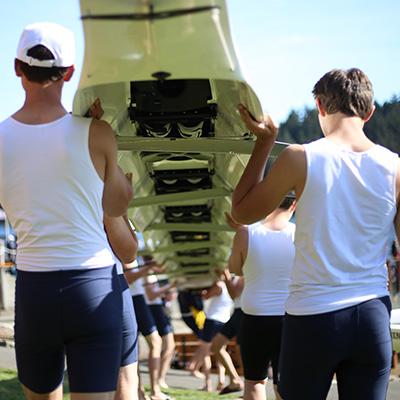 BIR Juniors - Varsity Boys Shoulder Boat
