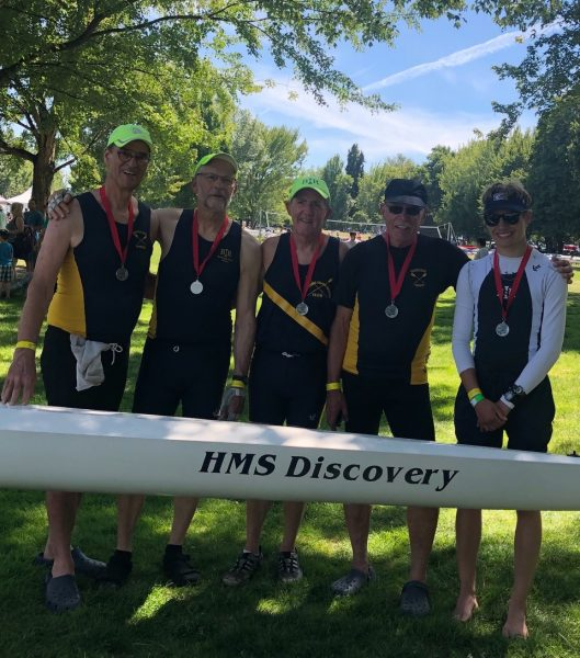 BIR Masters rowers at NW Regionals 2018