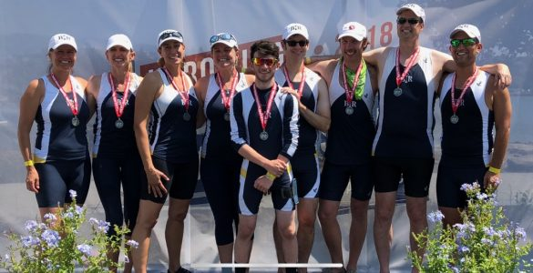 BIR Mixed 8+ at Nationals 2018