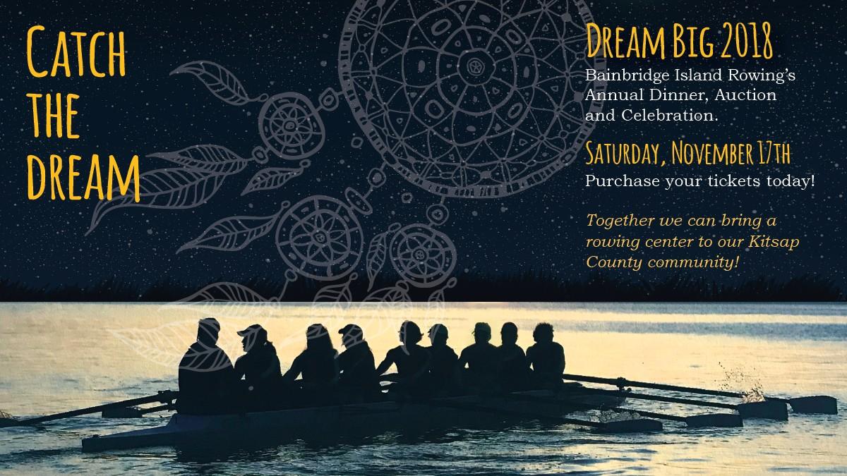 Dream Big for Homepage - Bainbridge Island Rowing