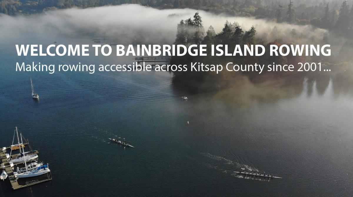 bainbridge island rowing - eagle harbor mist
