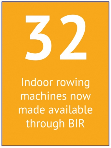 32 Indoor Rowing Machines