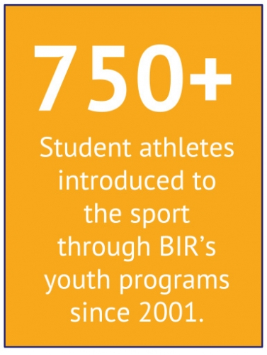 750-plus student athletes introduced to rowing through BIR's youth programs