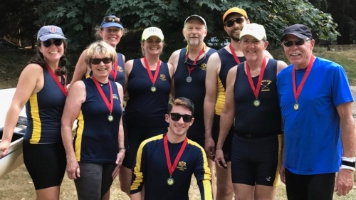 BIR Family - Green Lake Extravaganza Mixed Masters Medalists