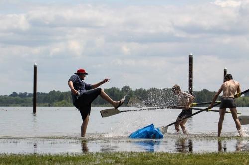 BIR at Regionals 2018 - Coach Davey Water Kick