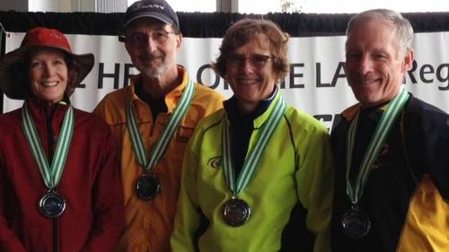 BIR Family - Mixed masters medalists