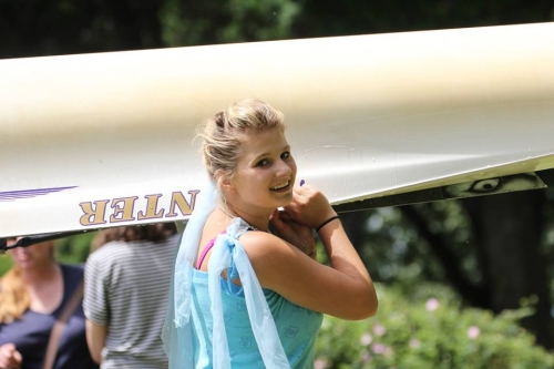 A BIR rowing princess - High School JV 8+ at Regionals 2018